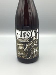 **LOCAL** Arsenal Cider House - Grierson's Ginger (25.4oz Bottle)